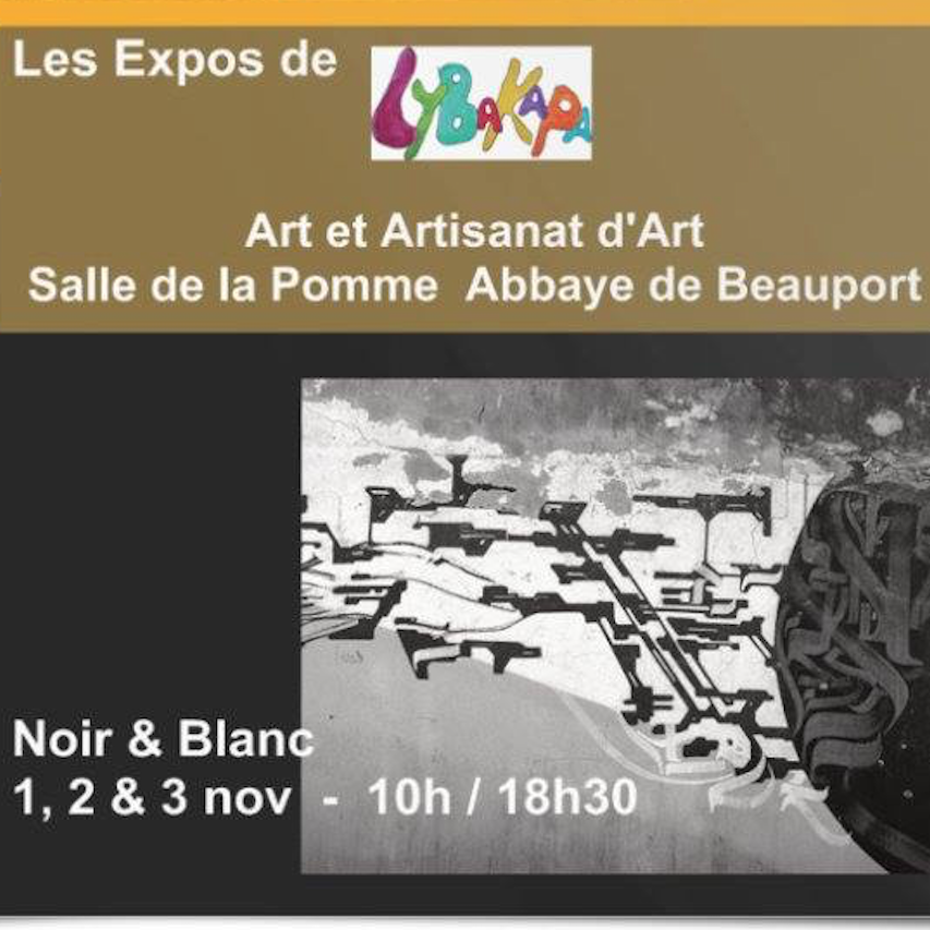 Exposition Noir & Blanc LYBaKaPa